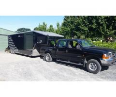 FORD F250 +40' ENCL TRAILER