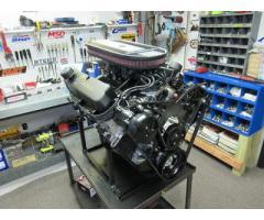 SBF Ford Windsor Turn Key 408W Engine 450HP Crate Motor, Holley Carb, Custom
