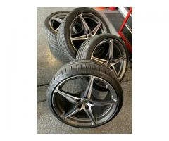 Ferrari 458 OEM Diamond Cut Factory Wheels/ Tires