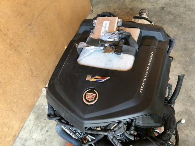 CADILLAC CTS-V LSA OEM 6.2L LITER SUPERCHARGED V8 SWAP ENGINE TRANSMISSION