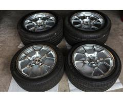 Ford GT40 BBS OEM Wheels and Tires GoodYear Eagle