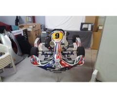 Aarow X1E Rotax TAG kart and trailer