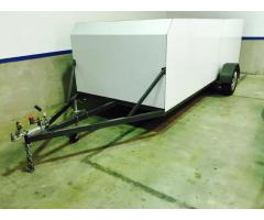 Semi Enclosed Trailer