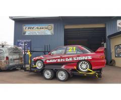 Mitsubishi GSR awd (Race car & trailer)