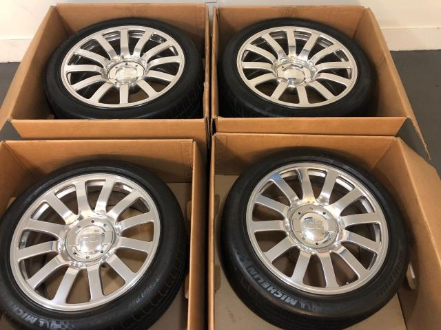 4 GENUINE BUGATTI VEYRON WHEELS TIRES 16.4 OZ RACING FACTORY OEM RIMS RARE