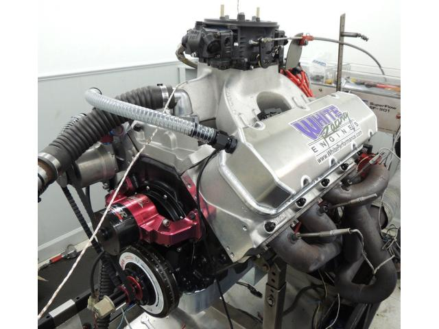 BBC 632 CUBIC INCH RACE ENGINE 1178HP COMPLETE ENGINE - SR20 BRODIX ALUM HEADS