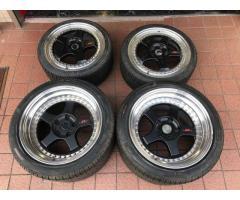 Lamborghini Diablo SV Wheels / Rims 18 inch OEM OZ Racing set of 4 Front + Rear