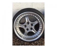 DP Motorsport Carrera Cup Wheels Bmw Fitment 5x120 17x9.5-10.5 Et21