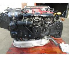 2005 SUBARU WRX STI EJ207 2.0L TURBO ENGINE VERSION 8 ECU ZEROSPORTS AIR INTAKE